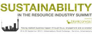 Sustainability Summit 2015