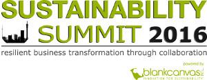 Sustainability Summit 2016